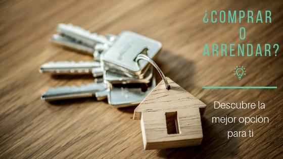 Comprar o arrendar vivienda. blog