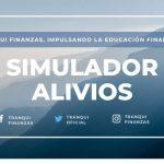 Simulador de alivios financieros desarrollado por Tranqui Finanzas disponible desde el 15 de septiembre